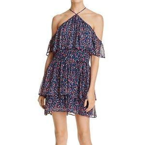 PAIGE Darya Floral-Print Silk Mini Dress
